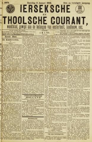 Ierseksche en Thoolsche Courant 1906-01-06