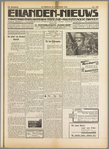 Eilanden-nieuws. Christelijk streekblad op gereformeerde grondslag 1940-10-26