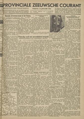 Provinciale Zeeuwse Courant 1944-01-14