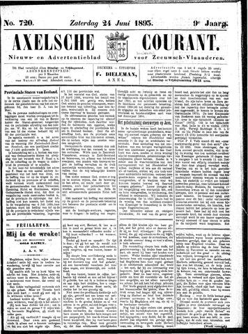 Axelsche Courant 1893-06-24