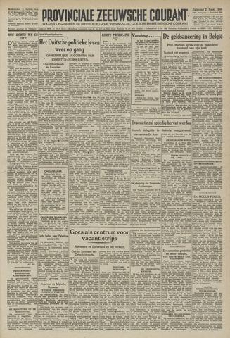 Provinciale Zeeuwse Courant 1946-09-21