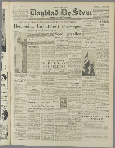de Stem 1951-01-04