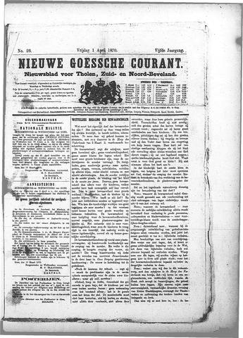 Nieuwe Goessche Courant 1870-04-01
