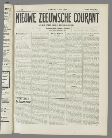 Nieuwe Zeeuwsche Courant 1908-05-07