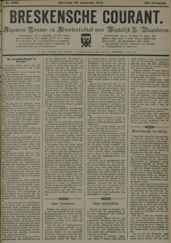 Breskensche Courant 1914-08-22