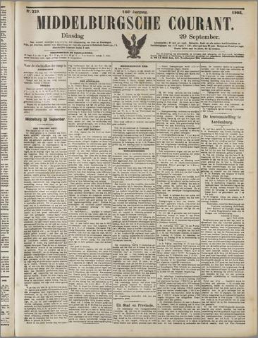 Middelburgsche Courant 1903-09-29