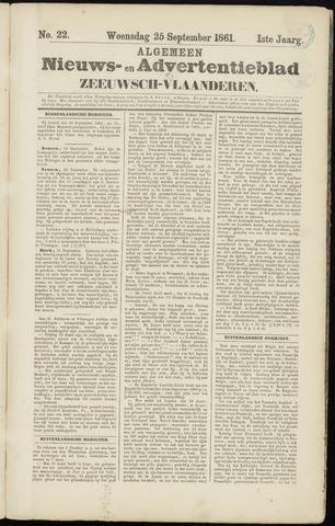 Ter Neuzensche Courant. Algemeen Nieuws- en Advertentieblad voor Zeeuwsch-Vlaanderen / Neuzensche Courant ... (idem) / (Algemeen) nieuws en advertentieblad voor Zeeuwsch-Vlaanderen 1861-09-25