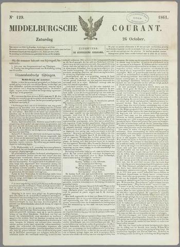 Middelburgsche Courant 1861-10-26