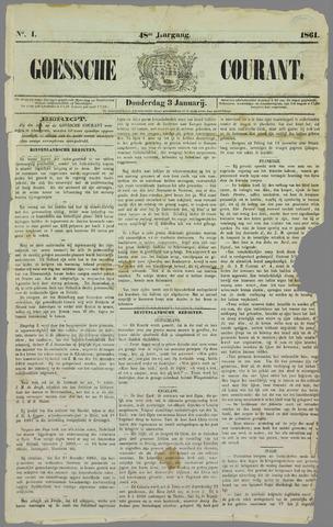 Goessche Courant 1861