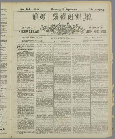 De Zeeuw. Christelijk-historisch nieuwsblad voor Zeeland 1910-09-19