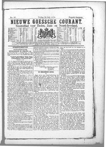 Nieuwe Goessche Courant 1874-07-24