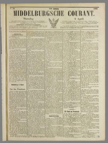 Middelburgsche Courant 1906-04-02