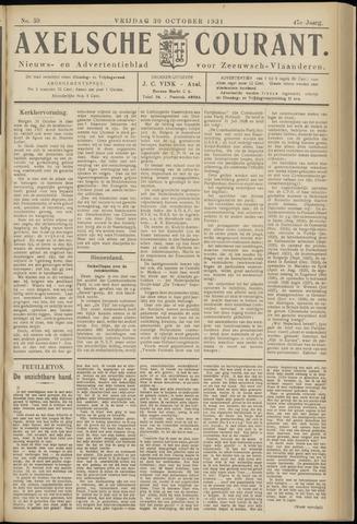 Axelsche Courant 1931-10-30