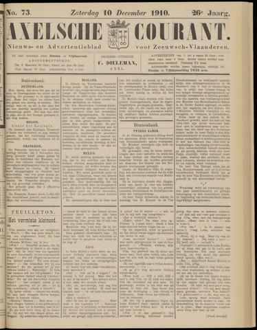 Axelsche Courant 1910-12-10