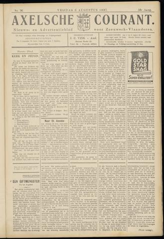 Axelsche Courant 1937-08-06