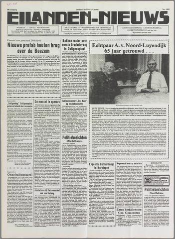 Eilanden-nieuws. Christelijk streekblad op gereformeerde grondslag 1985-08-20