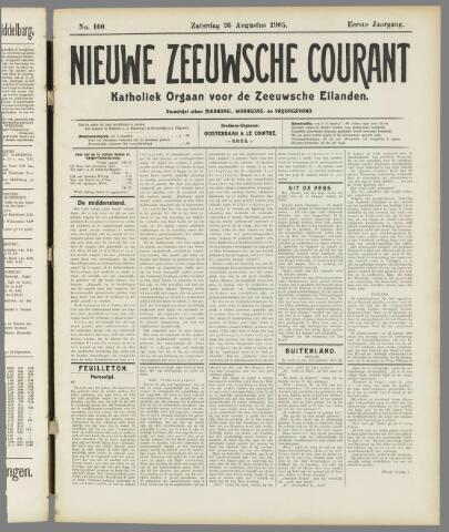 Nieuwe Zeeuwsche Courant 1905-08-26