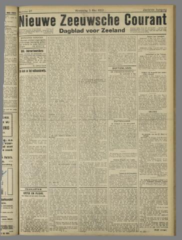 Nieuwe Zeeuwsche Courant 1920-05-05