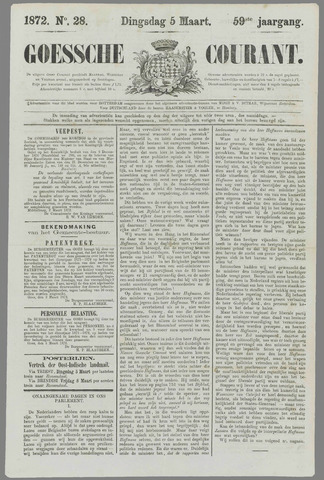 Goessche Courant 1872-03-05