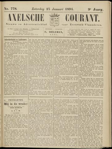 Axelsche Courant 1894-01-13