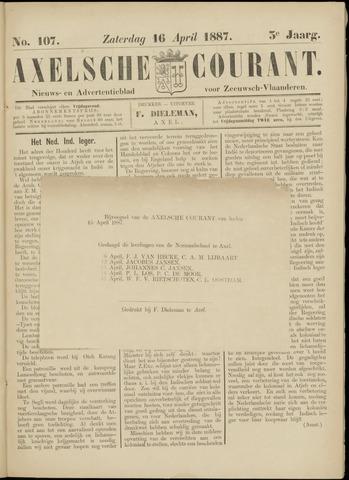 Axelsche Courant 1887-04-16