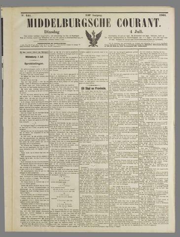 Middelburgsche Courant 1905-07-04