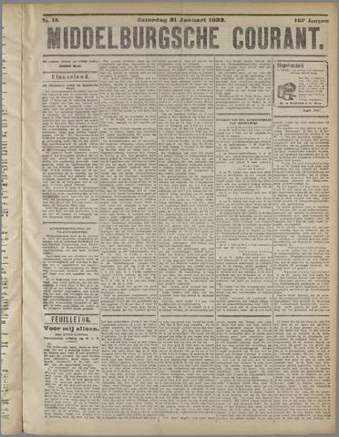 Middelburgsche Courant 1922-01-21