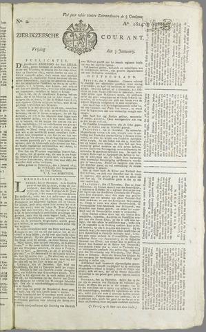 Zierikzeesche Courant 1814-01-07