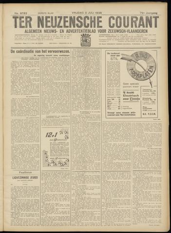 Ter Neuzensche Courant. Algemeen Nieuws- en Advertentieblad voor Zeeuwsch-Vlaanderen / Neuzensche Courant ... (idem) / (Algemeen) nieuws en advertentieblad voor Zeeuwsch-Vlaanderen 1938-07-08