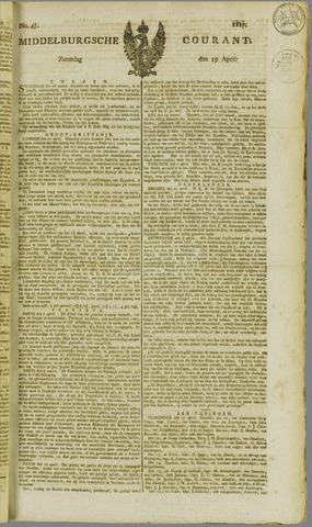 Middelburgsche Courant 1817-04-19