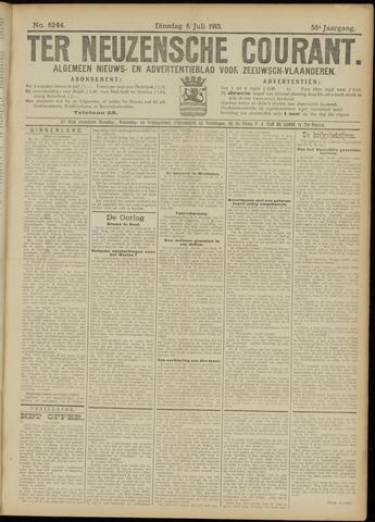 Ter Neuzensche Courant. Algemeen Nieuws- en Advertentieblad voor Zeeuwsch-Vlaanderen / Neuzensche Courant ... (idem) / (Algemeen) nieuws en advertentieblad voor Zeeuwsch-Vlaanderen 1915-07-06