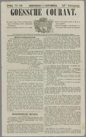 Goessche Courant 1864-11-17