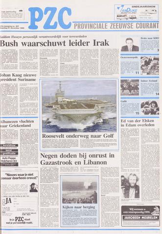 Provinciale Zeeuwse Courant 1990-12-31