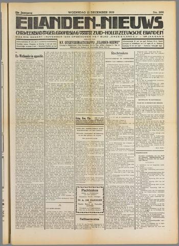 Eilanden-nieuws. Christelijk streekblad op gereformeerde grondslag 1939-12-13