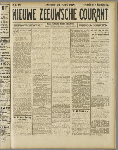 Nieuwe Zeeuwsche Courant 1918-04-23