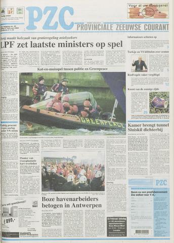 Provinciale Zeeuwse Courant 2003-02-21
