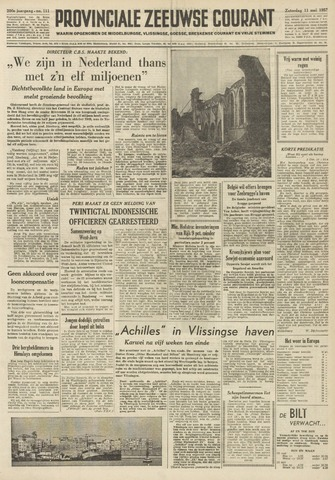 Provinciale Zeeuwse Courant 1957-05-11