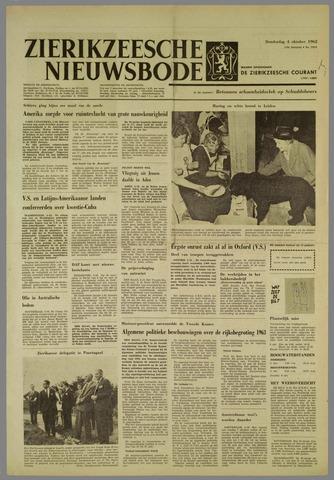 Zierikzeesche Nieuwsbode 1962-10-04