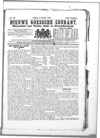 Nieuwe Goessche Courant 1870-10-14