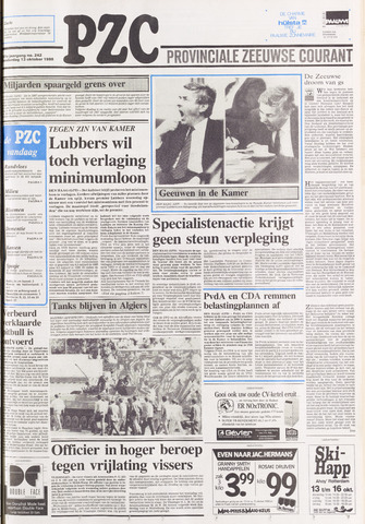 Provinciale Zeeuwse Courant 1988-10-13