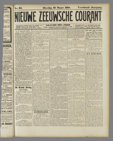 Nieuwe Zeeuwsche Courant 1918-03-19