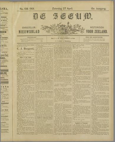 De Zeeuw. Christelijk-historisch nieuwsblad voor Zeeland 1901-04-27