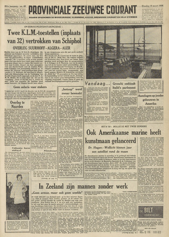 Provinciale Zeeuwse Courant 1958-03-18