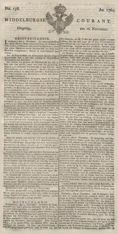 Middelburgsche Courant 1762-11-16