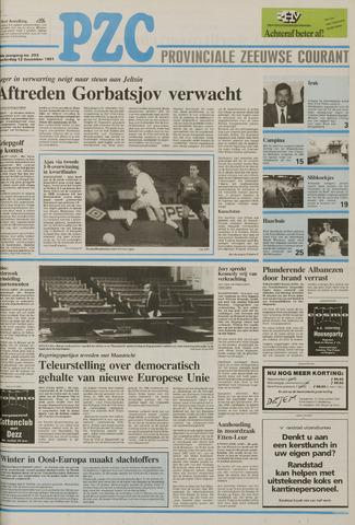 Provinciale Zeeuwse Courant 1991-12-12