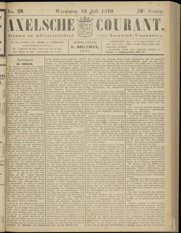 Axelsche Courant 1916-07-12