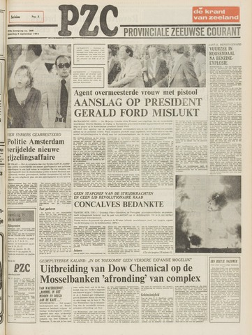 Provinciale Zeeuwse Courant 1975-09-06