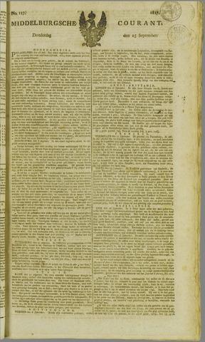 Middelburgsche Courant 1817-09-25