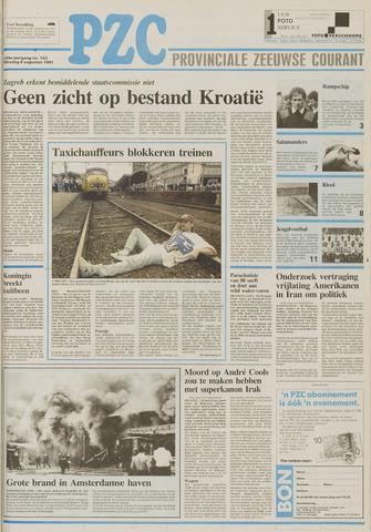 Provinciale Zeeuwse Courant 1991-08-06