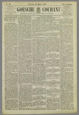 Goessche Courant 1919-03-25